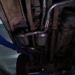 ремонт глушителя форд пикап