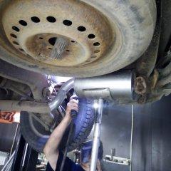 ремонт глушителя крайслер пацифика