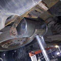 ремонт глушителя Chrysler Pacifica