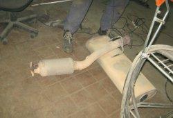 ремонт глушителя на трэйл блазер