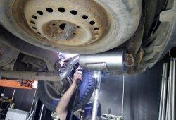 ремонт глушителя крайслер пацифика в Колпино