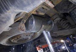 ремонт глушителя Chrysler Pacifica в Колпино