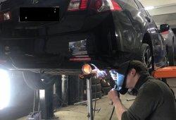 ремонт глушителя хонда аккорд