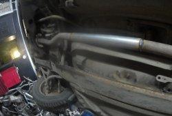 Замена катализатора на трубу
